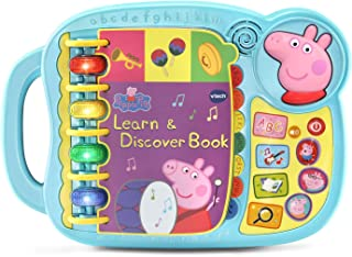 VTech Peppa Pig Learn & Discover Book - Electronic Educational Children's Learning Book - 518000