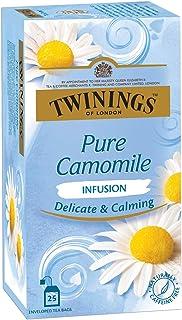 TWININGS Tea Bags Pure Camomile 1.76 oz 25/Box