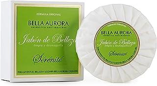 BELLA AURORA Serenité Jabón Desmaquillador Facial de Belleza Limpia a Fondo los Poros de la Cara, 100 gr