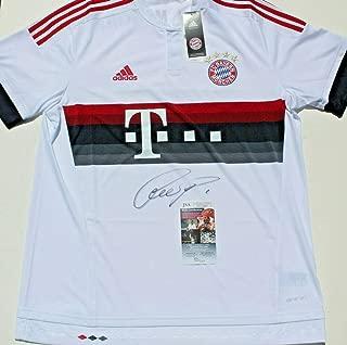 bayern munich autographed jersey