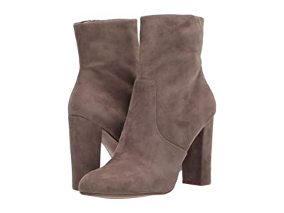 Steve Madden Editor Dress Bootie (Taupe Suede) Women