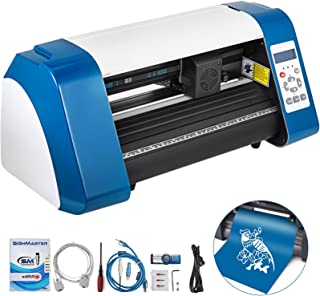 VEVOR Vinyl Cutter 14 Inch Vinyl Cutter Machine 375mm Vinyl Printer Cutter Machine LED Fill Light Strip Vinyl Plotter Cutt...