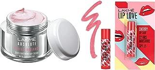 Lakmé Perfect Radiance Fairness Day Creme 50 g & Lakmé Lip Love Chapstick Cherry, 4.5 g