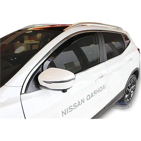 J J Automotive Windabweiser Regenabweiser Für Nissan Qashqai J11 2014 2018 2tlg Heko Dunkel Auto