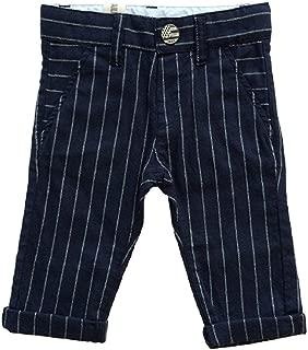 IKKS Little Boys Striped Pants Navy (2)