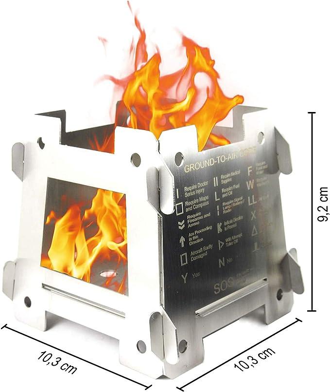 81 opinioni per JEO-TEC Outdoor fornelletto fornello fornellino- Solo 5 Pezzi- 100% accacio