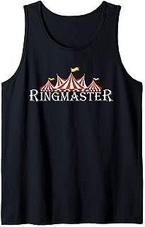 Ringmaster Funny Easy Circus Costume for Men Women Boy Girl Tank Top
