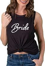 Funky Junque Womens Bride Tank Top Wifey Bridal Wedding Bachelorette Party Shirt