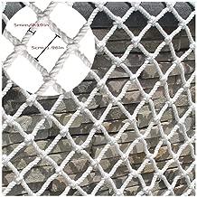 Gel/ändersicherheitsnetz 2 M Universal Schutznetz Balkon-Netz Kindersicherheitsnetz Treppe Balkon Fallschutznetz Nylonnetz Wei/ß Dekoratives Netz Verschlei/ßfestes Korrosionsschutzseil 4mm 3 M 4 M