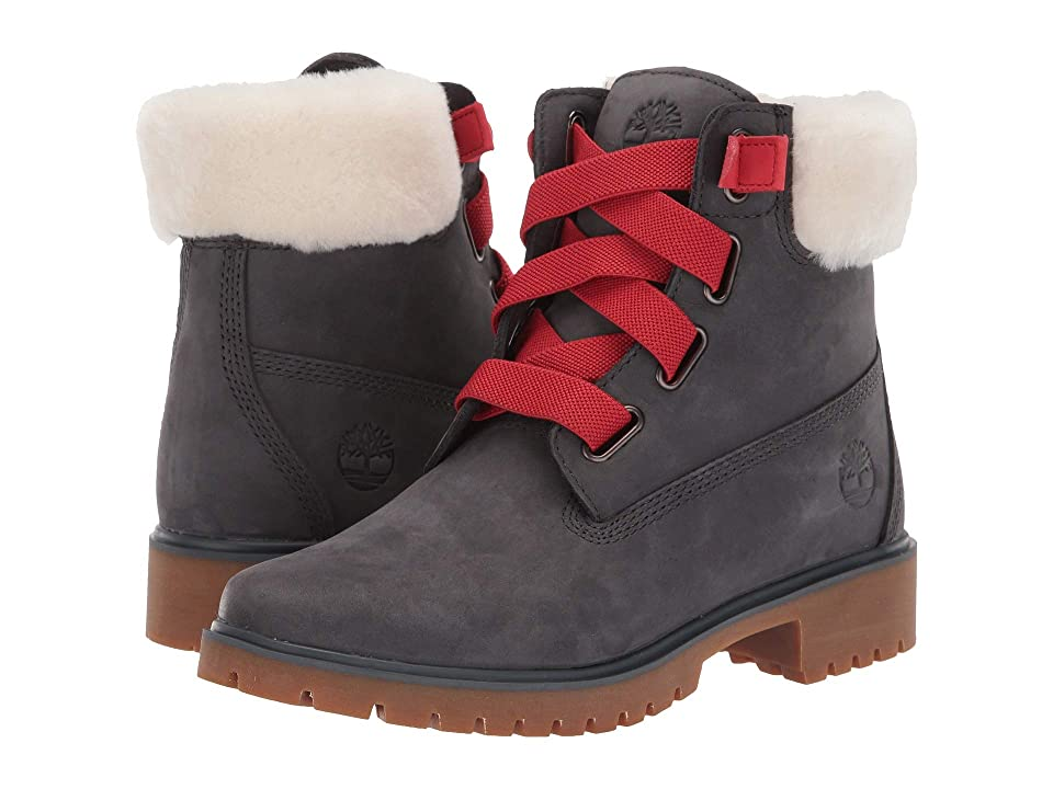 Timberland Jayne 6 Waterproof Convenience Boot (Dark Grey) Women