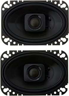 "Polk Audio DB462 DB+ Series 4""x6"" Coaxial Speakers with Marine Certification, Black photo"