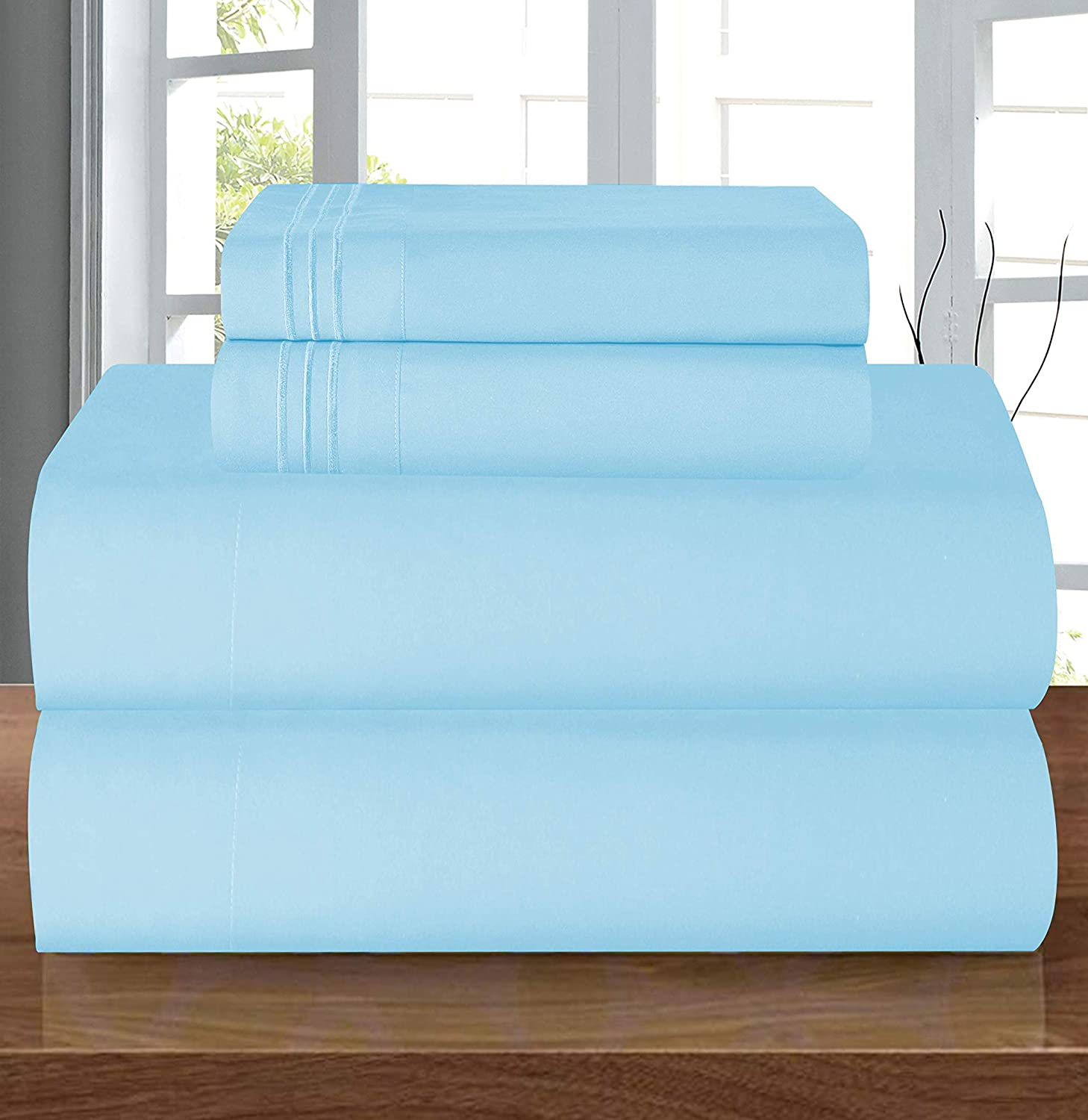 Premium Hotel Quality 1 Piece Fitted Sheet