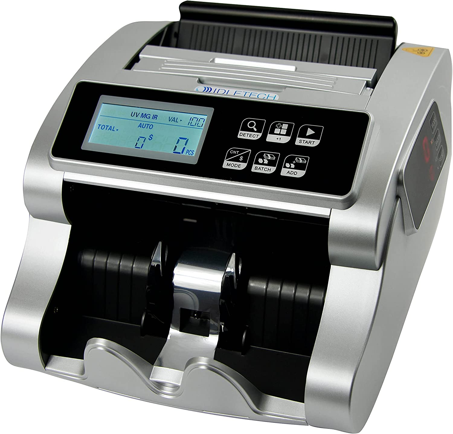 IDLETECH BC-1100 USD Money Max 74% OFF counter dete with New popularity counterfeit machine