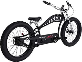 Micargi Electric Beach Cruiser Bike Fat Tire 500W Motor 48V 11.6AH Battery Electric Bicycle with Springer Saddle