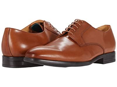 Paul Smith PS Thompkins Cap Toe Oxford (Medium Brown) Men