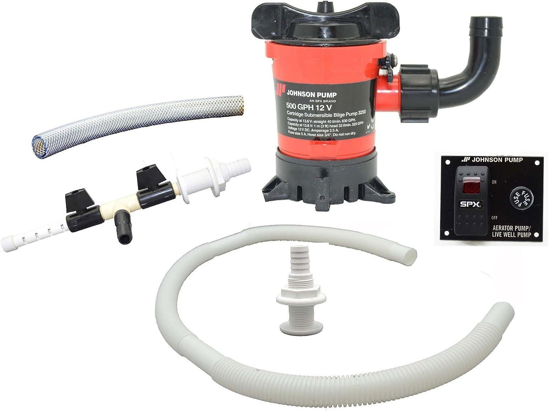 Johnson Pumps of America 34024 Marine inWell Aerator Kit