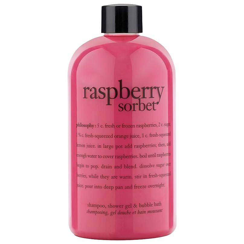 貝殻レトルト生じる哲学ラズベリーシャワージェル480ミリリットル (Philosophy) - Philosophy Raspberry Shower Gel 480ml [並行輸入品]