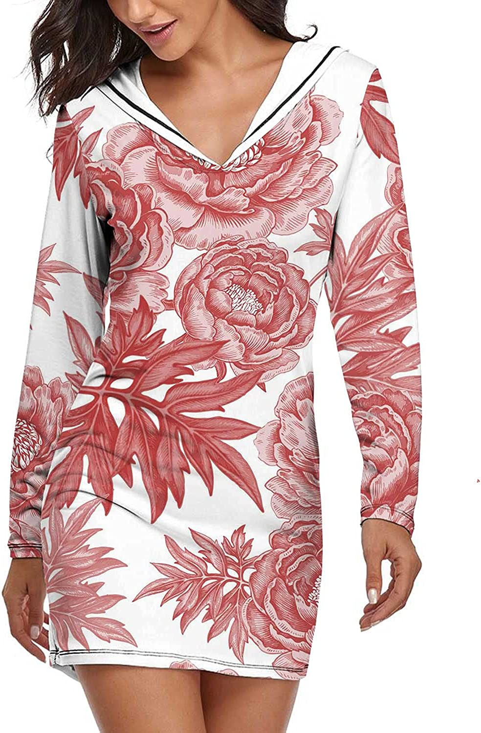 Dxichy Women Slim Dress Bamboo S on White Leaves Dallas Mall Isolated free