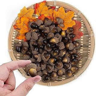 BigOtters Artificial Acorn, 100PCS Fake Nutty for Home Vase Filler Decor, 1.2
