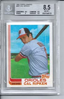 1982 Topps Traded Complete Set with Bgs Graded 8.5 Nrm to Mint Cal Ripken Jr Rookie