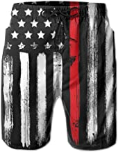 thin red line shorts