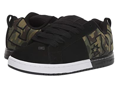 DC Court Graffik SQ (Black/Camo) Men