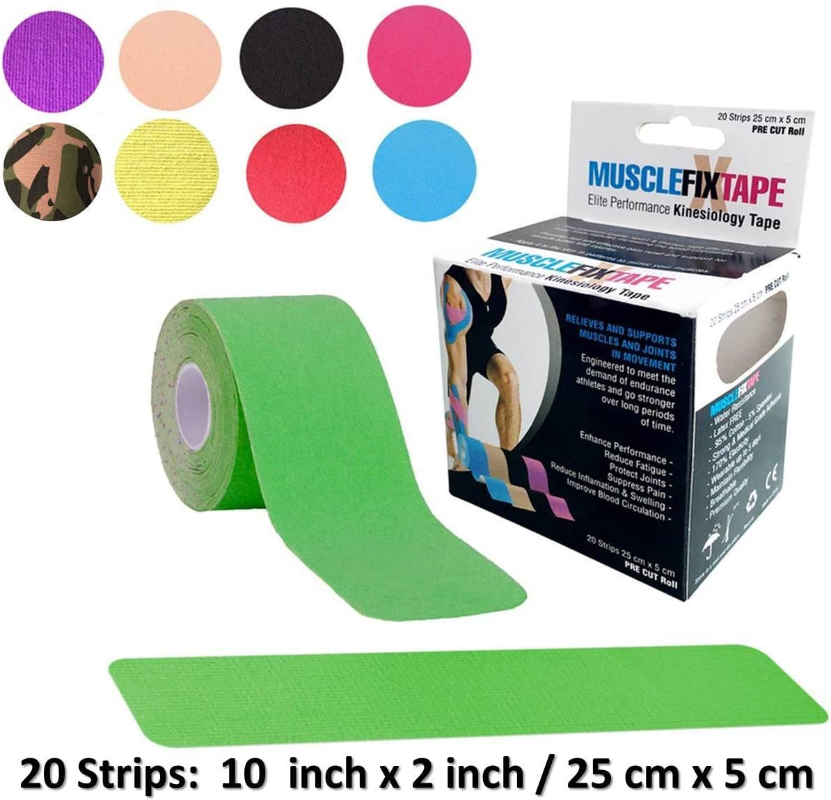 Sports Kinesiology Indianapolis Mall Tape Max 76% OFF Roll - First Athletic Recovery Ai Injury