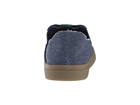 Olive Gum Pick Pocket Sneaker Sanuk BlackDark GumGreyNavy On Slip qT84nnY7
