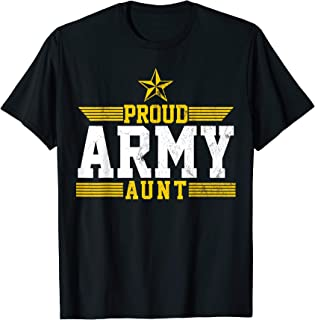 Best army aunt t shirts Reviews