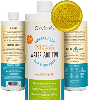 Oxyfresh Premium Pet Dental Care Solution Pet Water Additive: Best Way to Eliminate Bad..