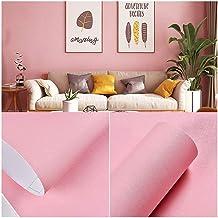 Wallpaper Pink Series Wallpaper, Romantic Home Decoration, PVC Material, Waterproof and Oil-proof Self-adhesive Wallpaper,...