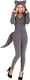 Grey Wolf Costume Women's