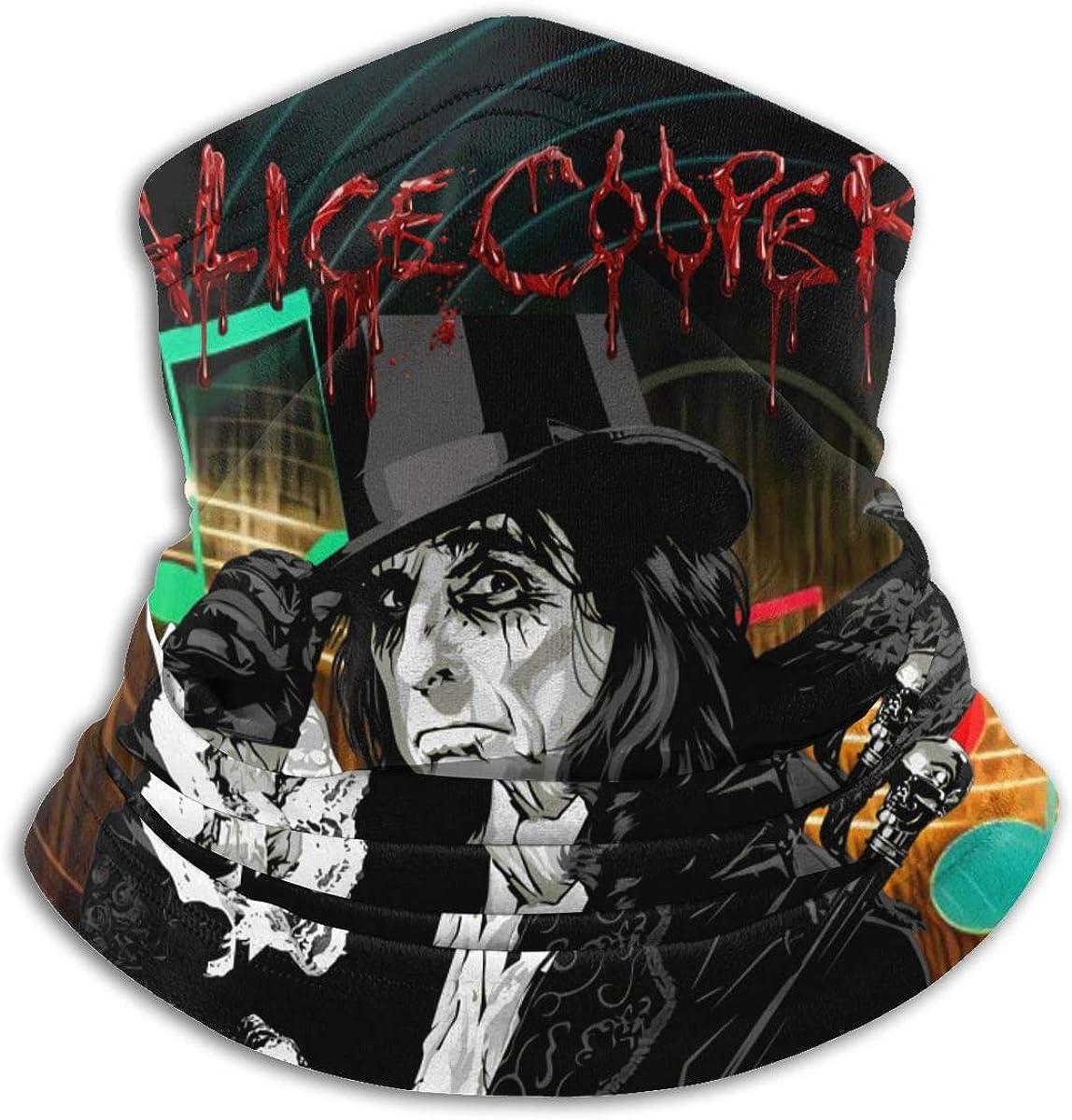 RandalSchultz Alice Cooper Neck Max 72% OFF Warmer Shield Cover Face Sc Cheap super special price
