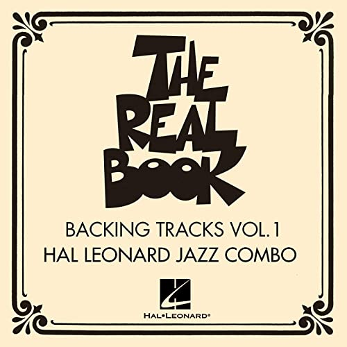 The Real Book / Backing Tracks, Vol  1 by Hal Leonard Jazz