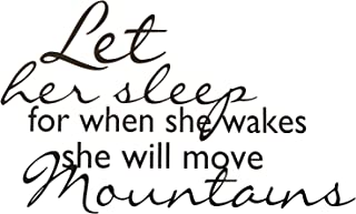 for she will move mountains