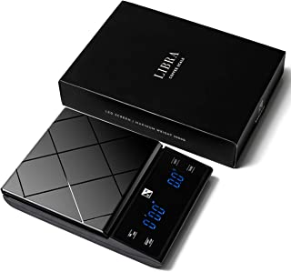 Libra Digital Coffee Scale/ Food Scale/ Kitchen Scale with Timer Easy Touch for Manual Brew Pour Over Coffee Drip or Espre...