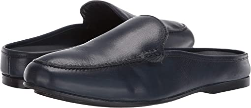 Navy Blue Calfskin Leather