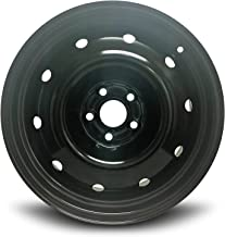 Road Ready Car Wheel For 2008-20014 Subaru Legacy 2008-2013 Subaru Forester 16 Inch 5 Lug Black Steel Rim Fits R16 Tire - Exact OEM Replacement - Full-Size Spare