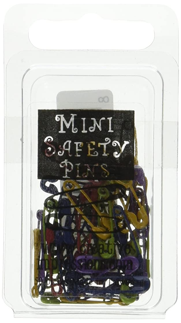 Mini Painted Safety Pins - Heritage