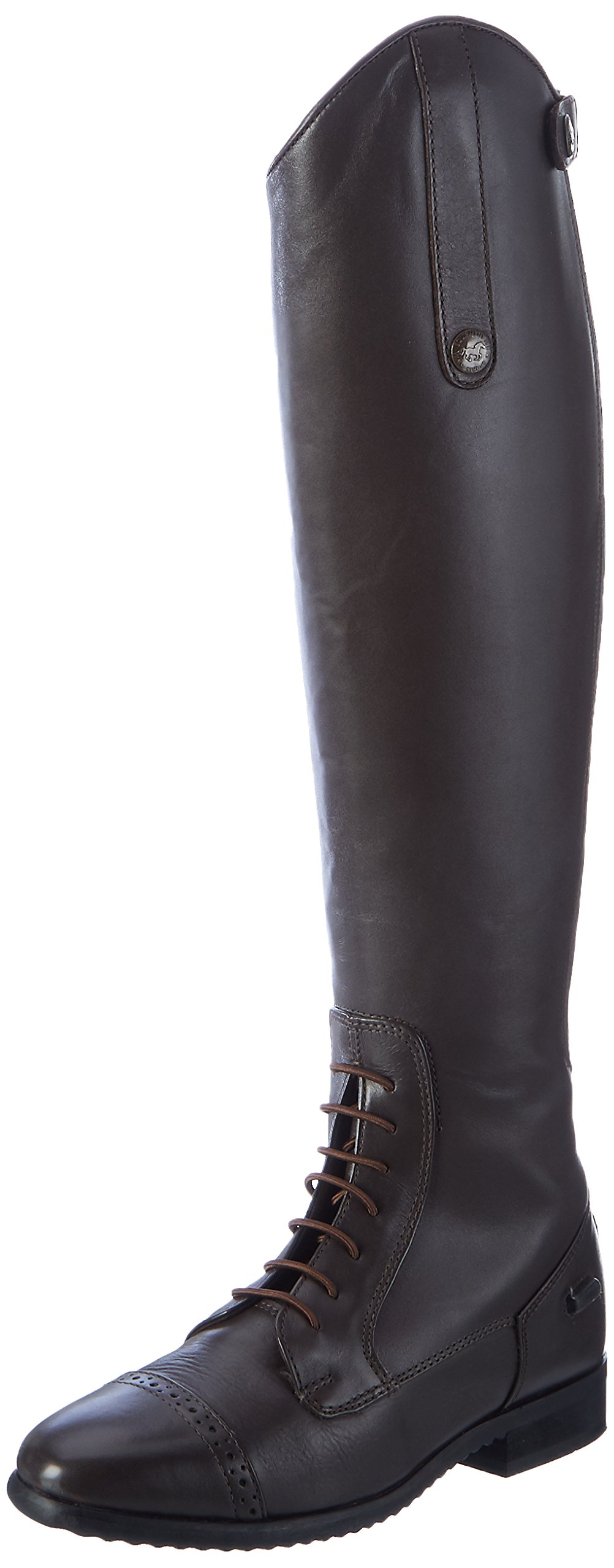 Hkm乗馬用ブーツバレンシアロングチューブ/トップ、メンズ、Reitstiefel -Valencia-、Lange / enge Weite