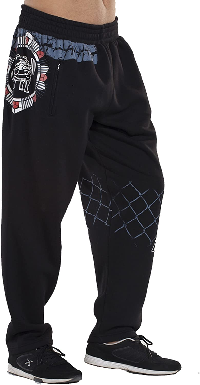 BIG SAM SPORTSWEAR COMPANY Men's Baggy Track Pants Bodypants 1045