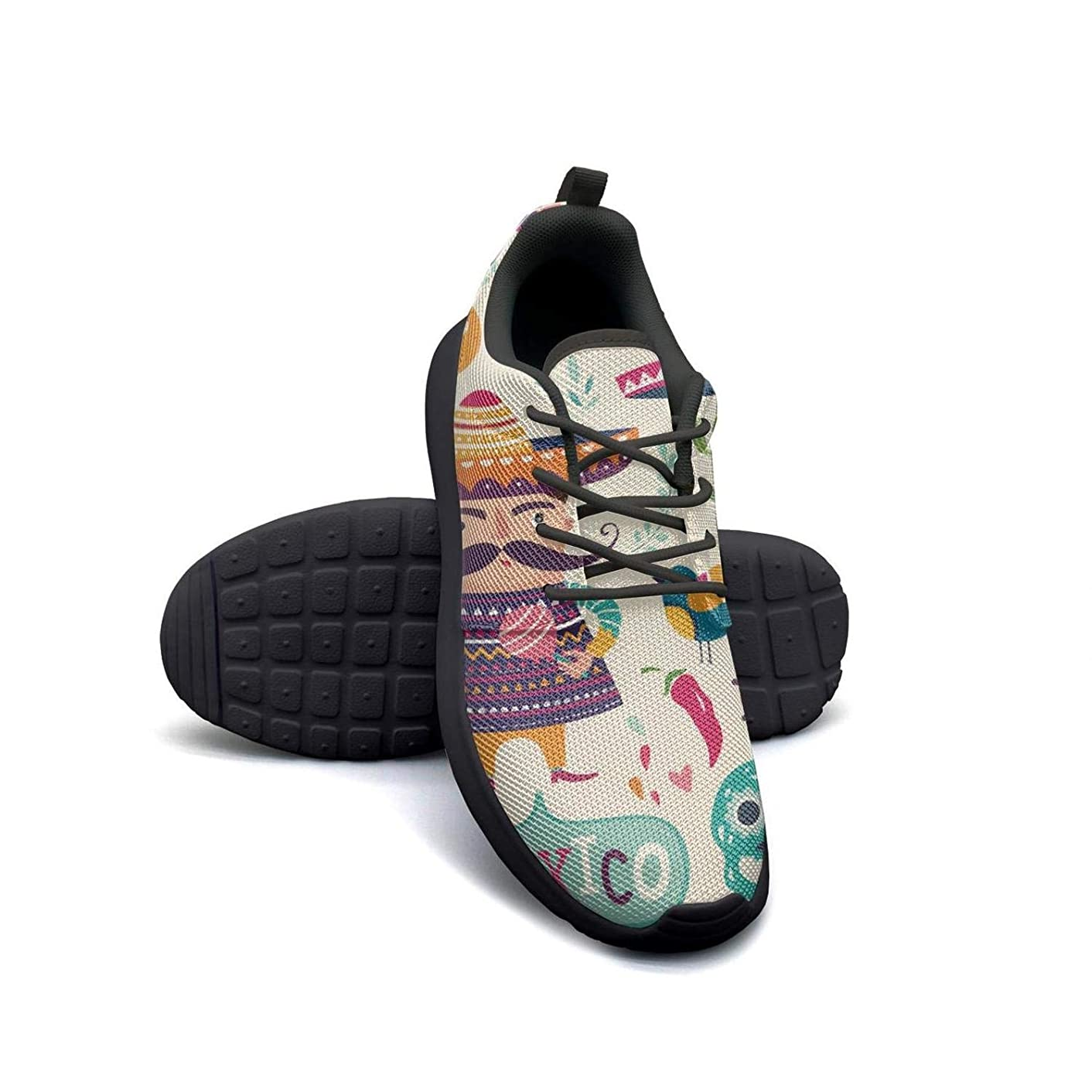 YSLC Funny Giraffe Print theam Running Shoes Lightweight for Women Sneaker Athletic Quick Dry Shoes