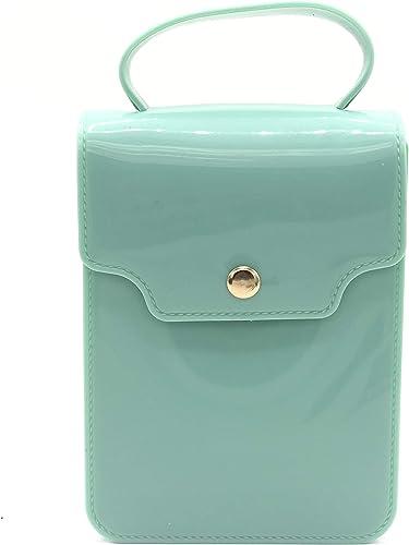 Women Girls Waterproof Mobile Cell Phone Holder Wallet Hand Purse Cross Body Sling Bag Green