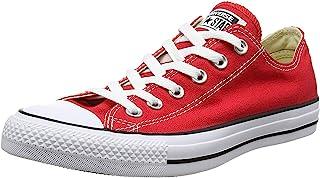 Converse AS Hi Can 1J793 Chaussures de sport pour adulte Gris - Rouge - rouge, 4 D(M) US