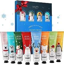 Hand Cream Gift Set, 8 Pack Travel Size Nourishing Hand Cream Set with Natural Shea and Vitamin E, Moisturizing & Hydratin...