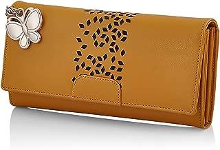 Butterflies Women's Wallet (Mustard) (BNS 2394MSD)