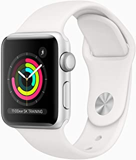 Apple Watch Series 3 (GPS) Caja de aluminio color plata 38 m