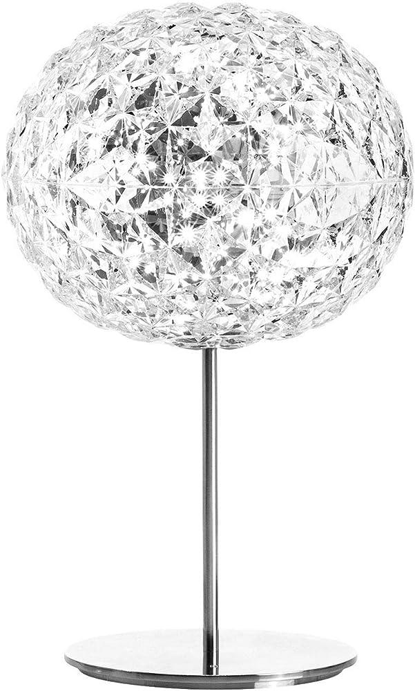 Kartell planet lampada da tavolo con stelo, dimmerabile 9385B4