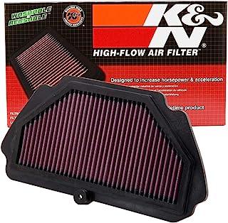 K&N Engine Air Filter: High Performance, Premium, Powersport Air Filter: Fits 2009-2019 KAWASAKI (Ninja ZX-6R, ZX-6R ABS, KRT Edition, 30th Anniversary, ZX600) KA-6009