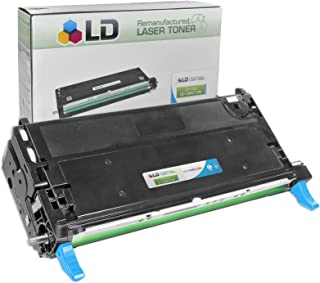 LD Compatible Toner Cartridge Replacement for Xerox Phaser 6280 106R01392 High Capacity (Cyan)